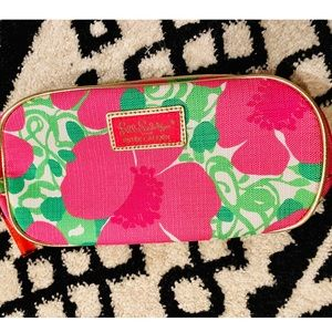 Lilly Pulitzer for Ester Lauder Pink Cosmetic Bag